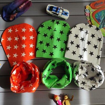 Детский набор комплект шапка и хомут