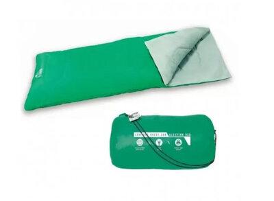 Bestway Спальный мешок 68053 Green Зелёный 180-75см, застежка-молния
