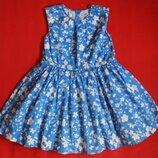 Платье M&S для девочки 5-6 лет.