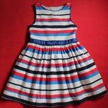 Платье M&S для девочки 6-7 лет.