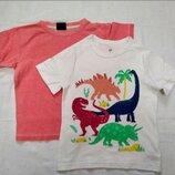 Комплект из двух футболок на р 98-104 см, для дома