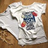 Набор футболок на девочку 7-8 лет