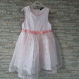 Платье нарядное George 5-6 лет, 110-116 см.