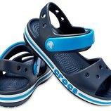 детские босоножки Crocs Bayaband Sandal сандалии Сандалии крокс для мальчика оригинал с11 с12