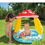 Детский надувной бассейн Intex 57114 «Грибочек» 102 89 см