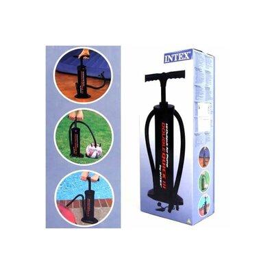 Ручной насос для надувания Intex 68615 объем 5 л, высота насоса 48 см