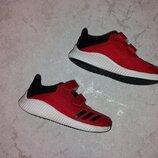 Красные кроссовки унисекс adidas р. 30 18-18,5 оригинал