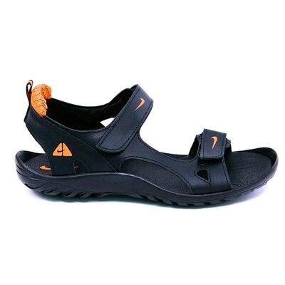 Мужские кожаные сандалии Nike NS orange
