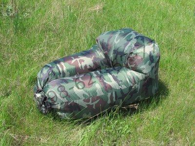 Ламзак Надувной диван матрас лежак гамак кресло Lamzac хаки камуфляж