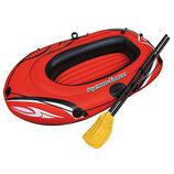 Лодка надувная одноместная Hydro Force Raft, 155 93см, весла, Bestway, 6107