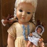 Кукла Гдр времён ссср 42 см