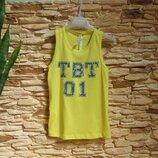 Майка-Хулиганка/футболка To be Too, Италия, на 7-8 лет, размер 122-128