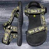 Teva оригинальные, стильные, надежные трекинговые сандалии-босоножки