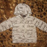 Демисезонная куртка парка дождевик милитари некст Next 98см