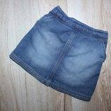 Детская юбка джинсовая юбка джинс некст Next 2-3 года