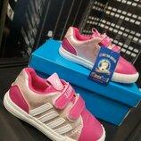 Кроссовки 21-26 р, детские кроссовки на липучках, кроссовки на девочку, розовые кроссовки, кеды