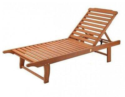 Шезлонг пляжный деревянный, шезлонг для дома, для сада, для дачи