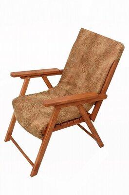 Кресло для дачи, для сада из натурального дерева