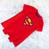 Стильный Песочник с плащом George Superman