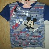 Стильная футболка с Минни мальчику