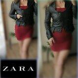 S-M Zara нат.Кожа Куртка,кожанка,косуха,кожаная