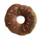 Милая игрушка-пищалка для домашних животных в виде пончика
