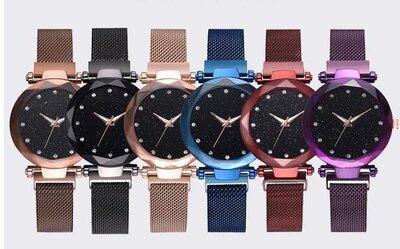 Женские часы Starry Sky Watch с камнями Swarovski часы звездного неба c магнитным ремешком