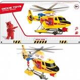 Вертолет Dickie Toys Воздушная полиция с носилками 1137003