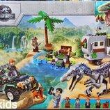 Конструктор Lari 11335 Dinosaur World «Поединок с бариониксом Охота за сокровищами» .Новинка
