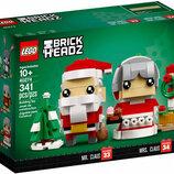 Конструктор LEGO Brick Headz Мистер и Миссис Клаус 40274
