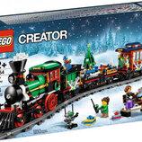 Конструктор Lego Creator Новогодний экспресс 10254 креатор поезд