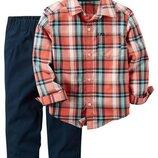 Набор 3t картерс рубашка брюки