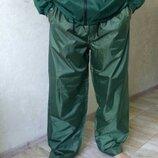 Фирменные штаны из плащевки большого размера. Ветро и влагостойкие штаны для рыбалки SPRO.