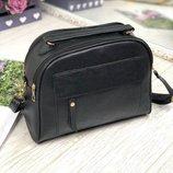 Тренд этого года сумка женская серебро черная длинная и короткая ручка