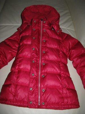 Куртка пуховик зимняя теплая фирменная Сар Германия на 11-12 лет