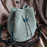 Вязаная сумка, женская сумочка