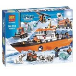 Конструктор Bela серия Urban Arctic 10443 Арктический ледокол аналог Lego City 60062