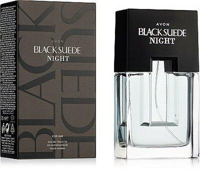 Продано: Туалетная вода Avon Black Suede Night