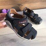 Детская летняя кожаная обувь. Материал верха натуральная кожа.