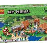 Конструктор Bela 10531 Майнкрафт The Village / Деревня аналог Lego Minecraft 21128