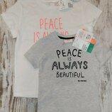 Комплект футболки H&M оригинал на 1-14 лет Family Look мама сын дочь брат фэмили лук