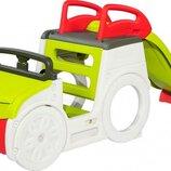 Игровой центр Smoby Toys Автомобиль путешественника с горкой и песочницей со звуком 840205