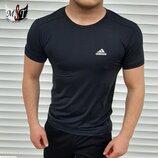 Мужская футболка Adidas Адидас DT-3757 в расцветках.