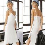 Платье миди Белое Молочное