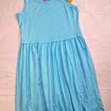Платье, сарафан на девочку 146 см.