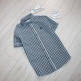 Рубашка тенниска в клетку на 8 лет