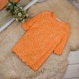 Очень стильный яркий качественный топ блуза от NEXT рр 14 наш 48