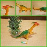 Резиновая игрушка динозавр Гумова іграшка