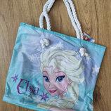Летняя пляжная сумка Эльза Дисней