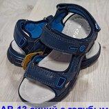 Кожаные босоножки сандали босоніжки летняя літнє обувь взуття мальчику хлопчику clibee, р.31-36